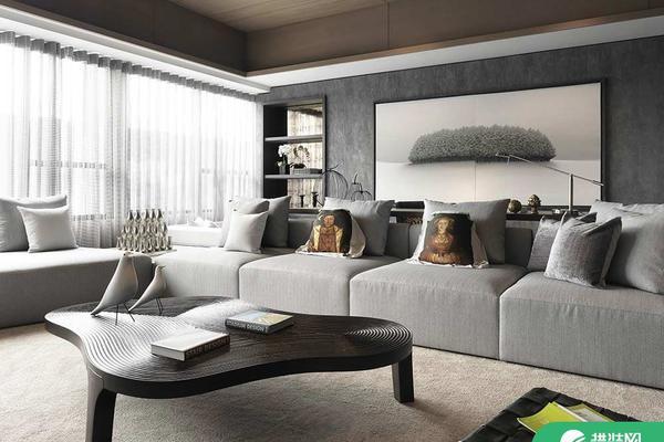 西寧簡約風格兩居室裝修圖