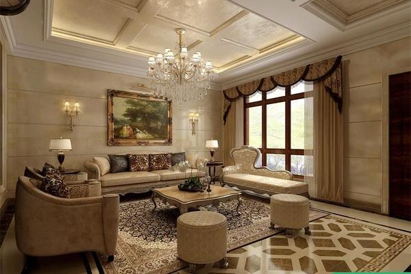 歐式別墅裝修設計 歐式風格別墅裝修效果圖