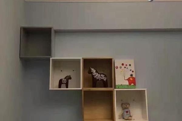 鄭州鑫苑國際新城89平米田園風格裝修效果圖