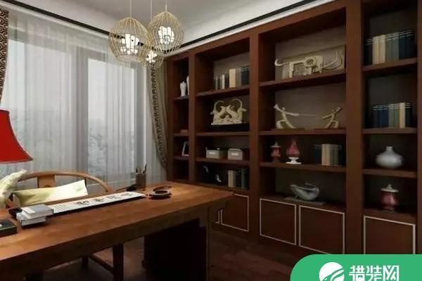 低調且奢華的新中式家庭裝修設計效果圖欣賞