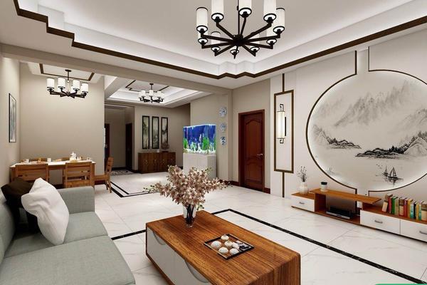 西安三原別墅裝修 中式風格別墅設計裝修案例