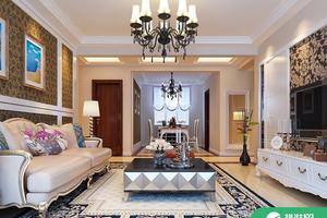 89平米简约风格装修设计效果图欣赏
