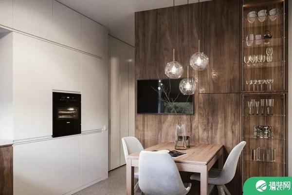 成都現代兩居室裝修效果圖