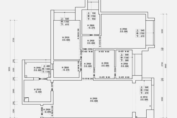 無錫簡約風格三居室裝修效果圖
