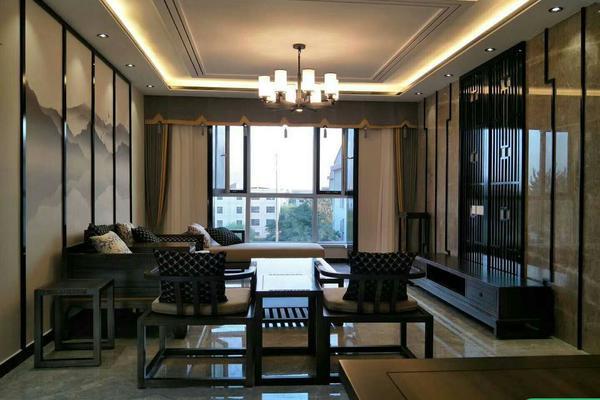 煙臺新中式風格三房裝修 新中式風格家庭裝修效果圖