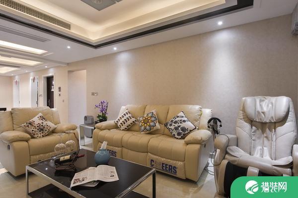 常熟古里鎮紫霞花園現代風格家庭裝修效果圖