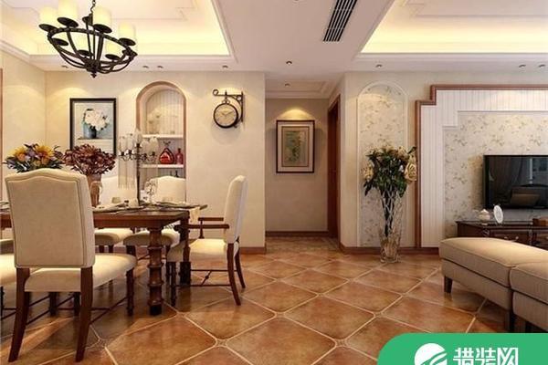 小美風格家庭裝修效果圖 美式風格三房裝修設計