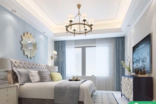 昆明歐式風格四居室裝修效果圖