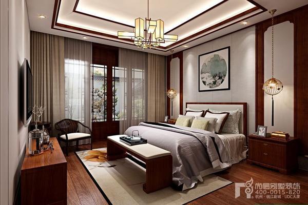 現代新中式風格別墅裝修效果圖 現代新中式的風骨與時尚氣息