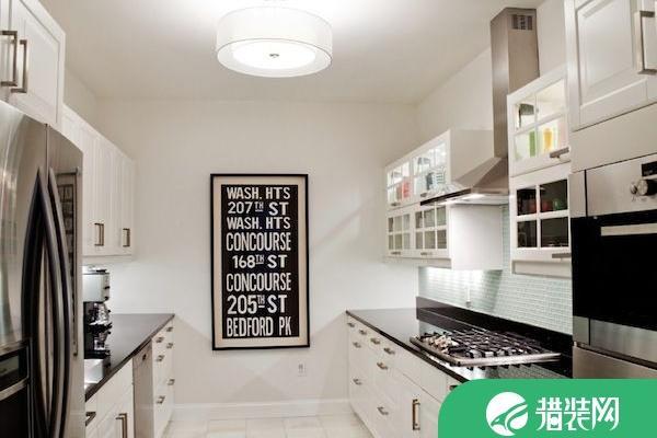 厨房?画廊?让厨房更具艺术范儿的设计