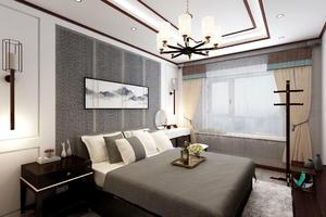郑州雅致新中式风格装修效果图案例展示