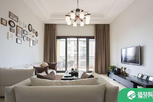 福州現代簡約溫馨三居室裝修效果圖設計