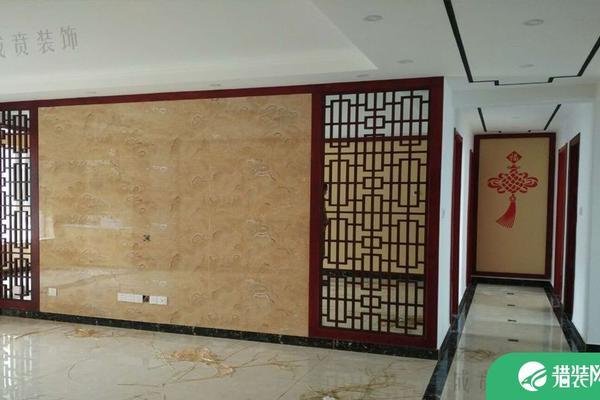 濟南華山龍城歐式風格三居室裝修效果圖