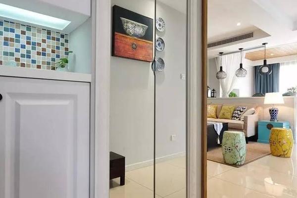 150平美式混搭四居室装修图