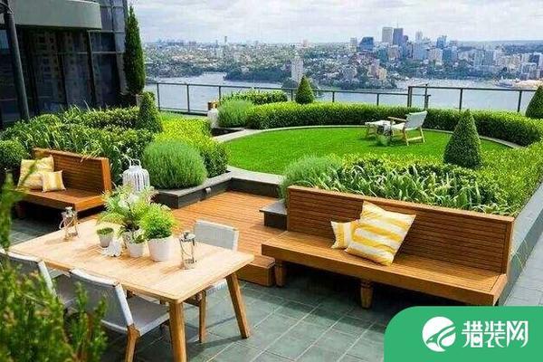 屋顶花园设计案例赏析,屋顶花园改造注意事项