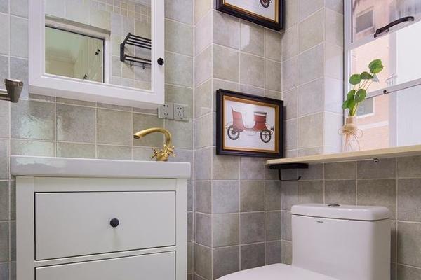 77㎡现代美式样板房装修案例