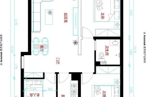 唐山凡达装饰邀您欣赏安联优悦城简约风格装修设计图