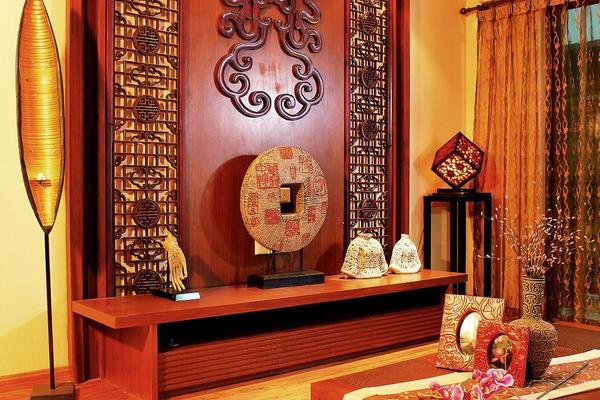147㎡平米东南亚风格装饰设计案例图集