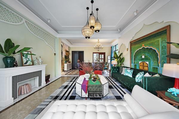 超惊艳东南亚风格别墅装修设计案例图集