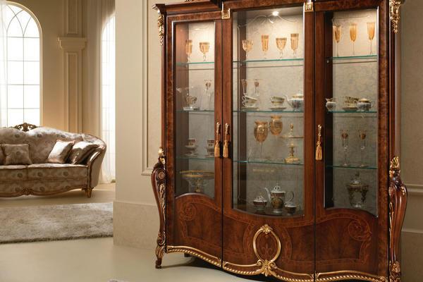 別墅古典歐式風格酒柜裝修設計效果圖