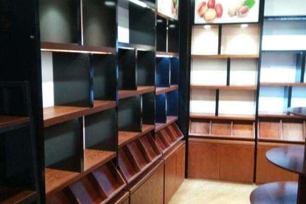 130平米茶叶专卖店复古风格装修效果图