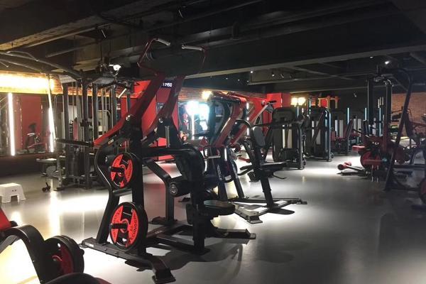 180平米大户型健身房复古风格装修效果图