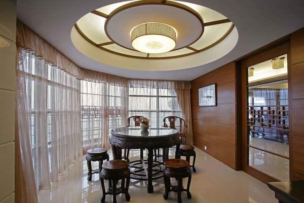 450平米別墅樓中樓吊頂簡歐風格裝修效果圖
