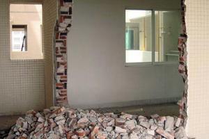 装修第一步之墙体拆除 墙体拆除的预算怎么算
