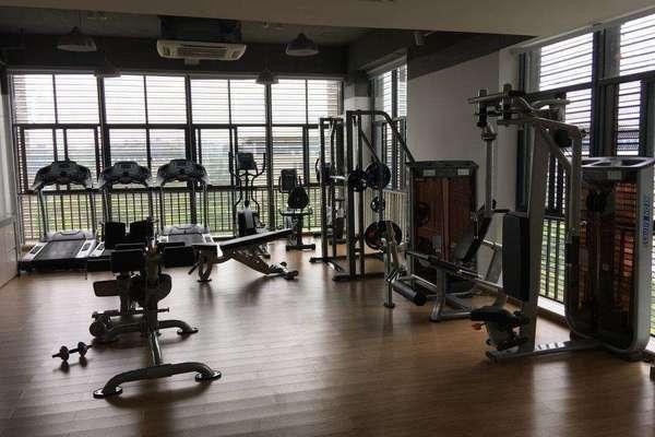 98平米閣樓健身房簡歐風格裝修效果圖