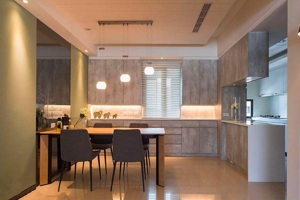 125平米簡約風格廚房龍骨吊頂裝修效果圖