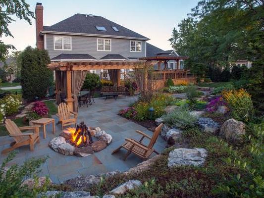 160平米別墅園林簡歐式風格裝修效果圖