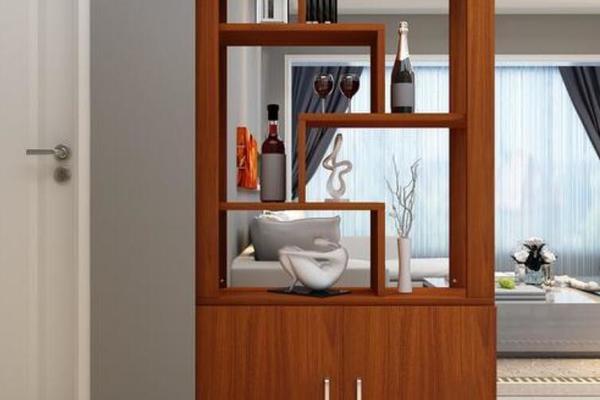 135平米三居室簡約風格家具玄關柜裝修效果圖