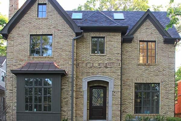 350平复古风格斜顶房屋设计效果图