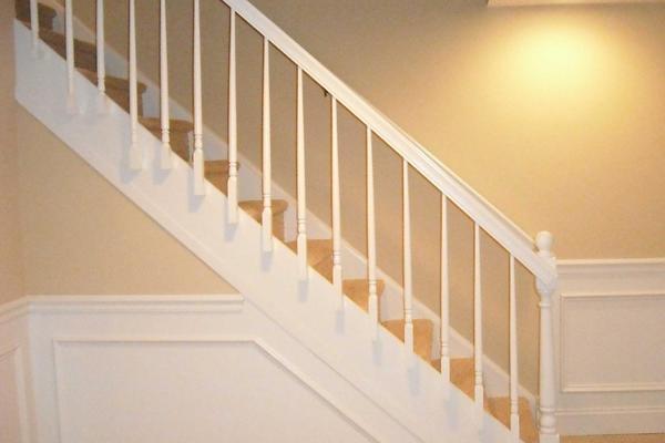 室內樓梯欄桿效果圖