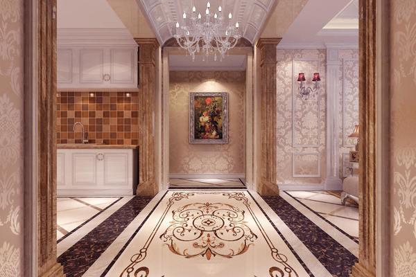 180平大戶型風格歐式奢華房屋過道裝修效果圖