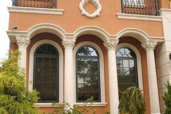 110平米別墅歐式羅馬柱拱門裝修效果圖