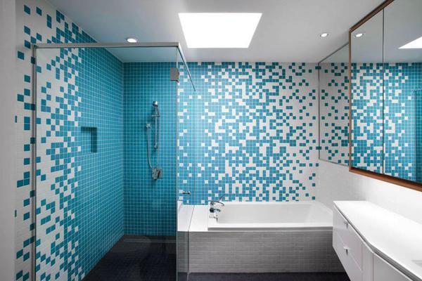 地中海風格大戶型室內衛生間裝修效果圖