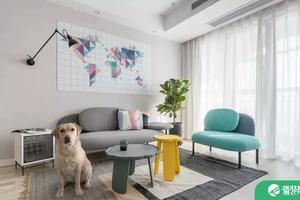 五种不同风格的客厅背景墙挂画 赶紧学起来!