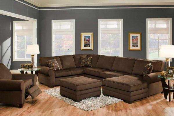 130平米三居室意风家具沙发装修效果图