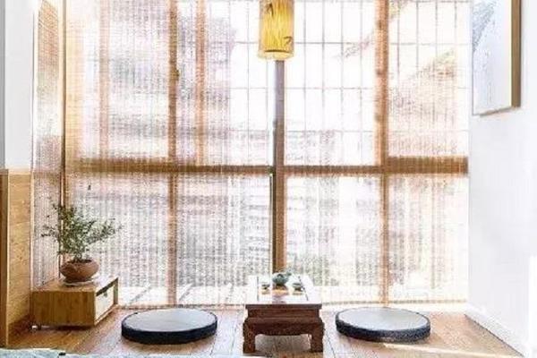 没有空间装茶室 邢台装修网带你飘窗改茶室