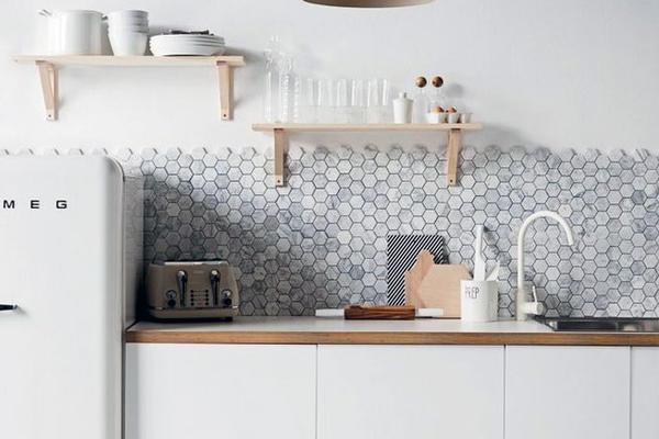 新款地中海風小戶型廚房裝修圖精選