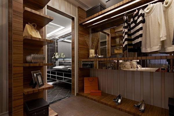 150平米敞開式衣柜歐式風格裝修效果圖