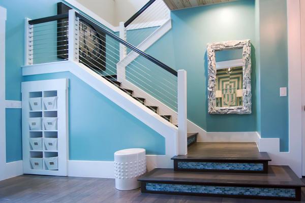 地中海風格復式樓樓梯設計裝修效果圖賞析