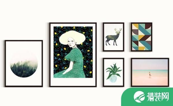 10种实用的装饰画挂法 充满阳光的趣味美学设计