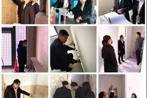 上海红蚂蚁装饰工地巡检抽查 努力,让客户更感动!