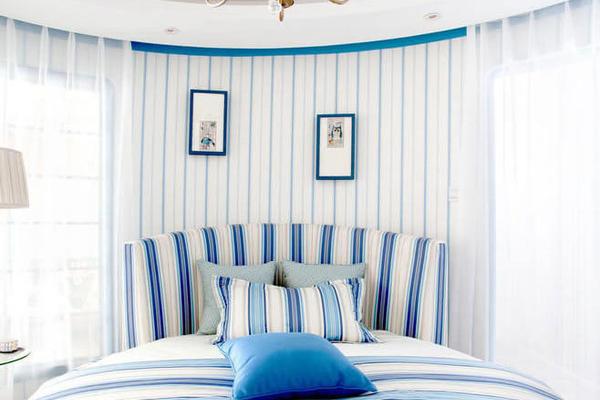 情迷地中海風情浪漫臥室裝修效果圖