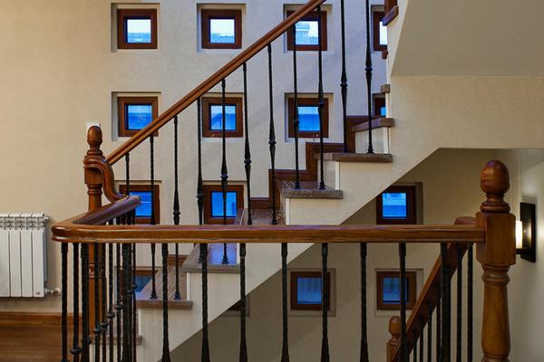 精美美式风格楼梯装修效果图大全