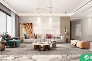 珠海居众装饰分享别墅装修实景 现代轻奢风格高贵典雅!