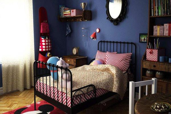 美式小户型儿童房效果图