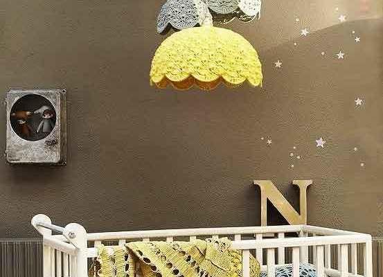 簡歐風格溫馨舒適嬰兒房設計裝修效果圖